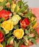 """Букет из 19 роз """"Все ясно"""""""