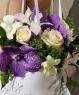 Свадебный букет из орхидей и роз №22