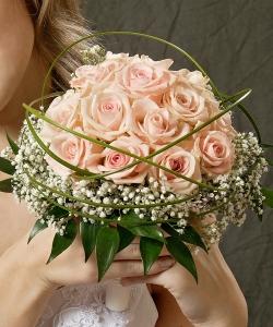 Свадебный букет из роз №25