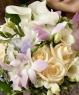 Свадебный букет из калл и роз №30