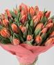 """Букет из 37 тюльпанов """"Просто и со вкусом"""""""