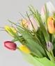 """Букет из 29 тюльпанов """"Палитра тюльпанов"""""""