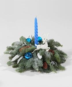 """Новогодняя композиция """"В цветах Нового года"""""""