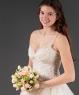 Свадебный букет из кустовой розы №37
