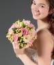 Свадебный букет из эустомы №35