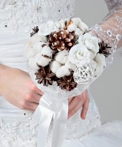 Свадебный букет невесты №216