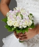 Свадебный букет из роз и орхидей №5