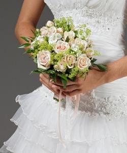 Свадебный букет из роз №7