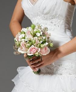 Свадебный букет из роз №9