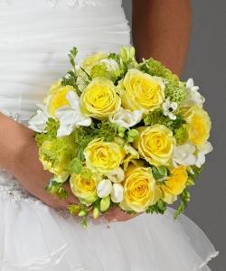 Свадебный букет из роз №11