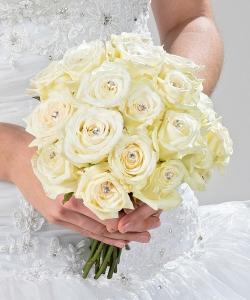 Свадебный букет из роз №204