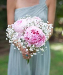Букет невесты из пионов №129