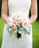 Свадебный букет из пионовидных роз №131