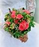 Свадебный букет из кустовой розы №197