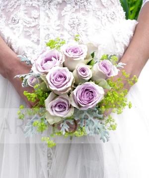 Свадебный букет из роз №200