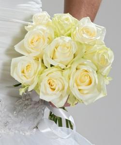 Свадебный букет из роз №211