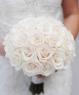 Свадебный букет из роз №167